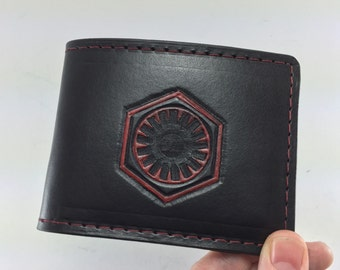 Star Wars - First Order Inspired Hand Tooled Wallet