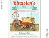 Tractor / Farm Invitation - Customizable Wording - Print Your Own
