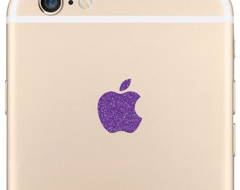 Sparkling Amethyst Apple iPhone 6 Plus Logo Decal