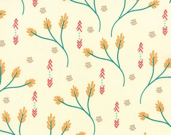 Creosote in Ivory  37510-11 - VALLEY by Sherry and Chelsea for Moda Fabrics - By the Yard