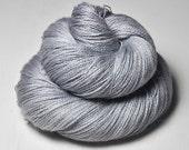 Dolphin in my bath tub - BabyAlpaca/Silk Lace Yarn
