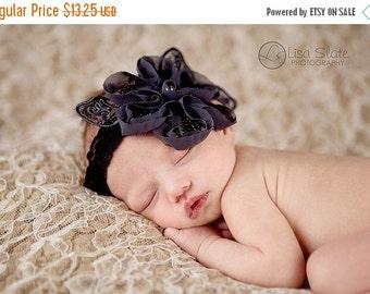 10% off SALE Baby headband, newborn headband, adult headband, child headband and photography prop The single sprinkled- LORELEI headband