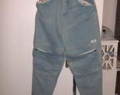 Vintage Guess Denim Jeans 1980's  Georges Marciano 100% Cotton Flap Pockets Reserve for Chris