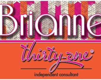 Thirty-One Gifts Name Badge, Approved by Home Office, 31 Gifts, Consultant Name Badge, Senior Director, Executive Director