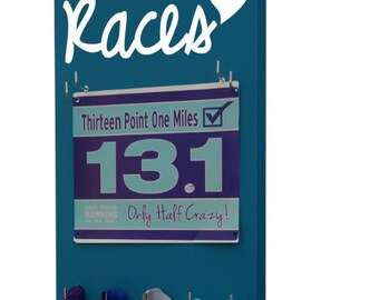 A Race Bib Holder that adds Style to your running Bibs - Races heart logo for the runners that LOVE to race!