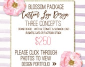 Logo Branding Package Branding Board Business Card or Facebook Design Graphic Design Logo Hand Drawn Logo Design Bespoke Logo Design