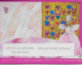 glinda optimist greeting card