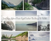 Adobe Lightroom Presets Actions - Scenic Scapes Landscape editing tool - BONUS 7 Image Collage