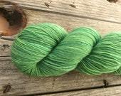 Esmeralda, semi-solid sock yarn