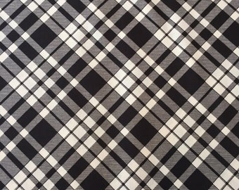 Plaid thistle, Eastham Collection from Denyse Schmidt for Free Spirit Fabrics, 1/2 yd