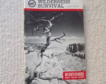Vintage Wilderness Survival Boy Scouts Of America 1992 Merit Badge Series