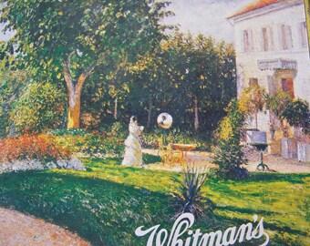 Vintage Whitmans Candy Tin Camille Pissarro Garden of Les Mathurins At Pontoise Artist Series 1995