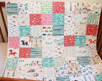 "Baby Quilt entitled ""Sweet Dreams"""