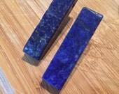 Blue Lapis Earrings by ChoklatTea