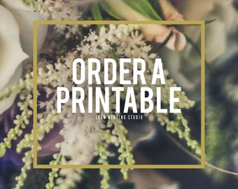 Order A Printable