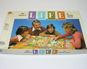 1981 - The Game of Life Vintage Classic Family Fun Board Game Complete Milton Bradley