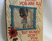 Black Americana Get Well Card - Free Shipping