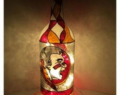 Florida State Seminoles Bottle Light Upcycled Hand painted Lamp