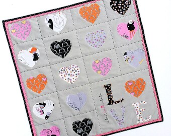 Zombie Love Mini Quilt KIT