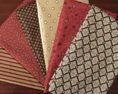 Savannah and Birdsong Fat Quarter Bundle of 6 by Jo Morton for Andover
