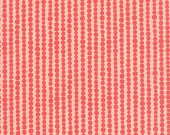 Tucker Prairie Primrose Bubbles Pink by One Canoe Two for Moda