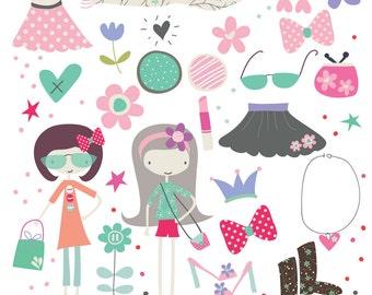 Fashion Sista Cliparts