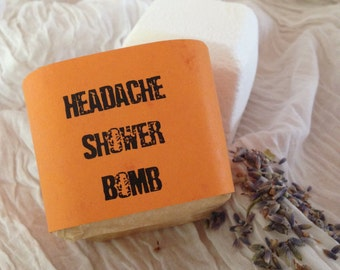 Headache Relief Shower Bomb - Aromatherapy - Spa Treatment