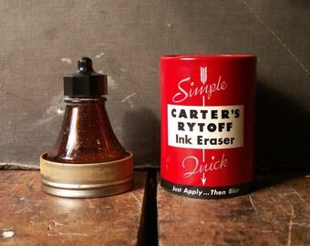 Vintage Carter's Rytoff Ink Eraser - Great Industrial Decor