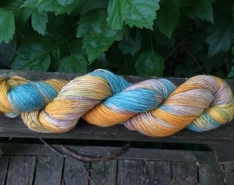 Yarn, Single Merino, Hand Dyed Sock Yarn, Hand Dyed, Merino