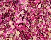 Dried ROSES 5-10 Cups 100% Natural Chemicals-Free Red Pink Rose Petal Flower // Visually Attractive Super Fragrant