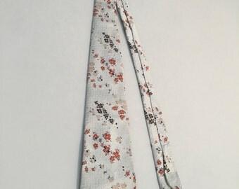 Vintage 1970s Steinberg's Floral Print Tie, Mens necktie