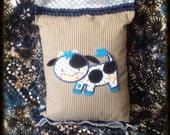 Playful Cow Pillow