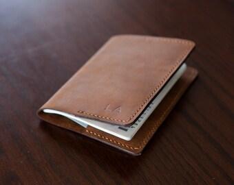 Full Grain Leather Passport Cover