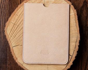 Full Grain Leather iPad Air Sleeve