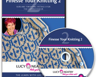 Lucy Neatby's Finesse Your Knitting 2 DVD