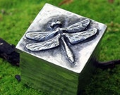 Spring Sale 10% Dragonfly Jewelry Box in silver pewter