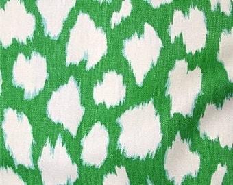 4 Colors - Designer Pillow Cover - 16 x 16, 18 x 18, 20 x 20, 22 x 22, 24 x 24 -Kate Spade for Kravet - Leokat - Green, Silver, Black, Red