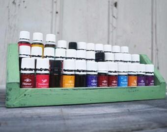 Essential Oil Storage Display Shelf - Stores 36 Essential Oils