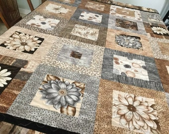 Bring in the nature lap quilt