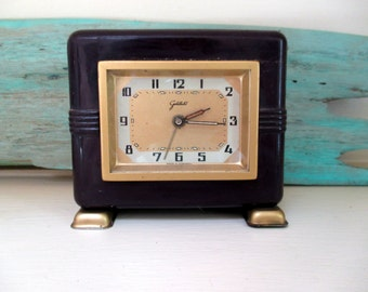 Art Deco Goldbuhl Alarm Clock Germany