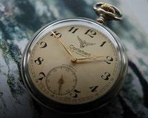 Cortebert Turkish Railway Vintage Pocket Watch Cal 736