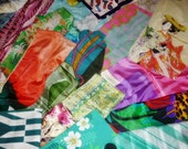 MYSTERY SCARF, Vintage scarf, Silk Scarf, Huge Collection