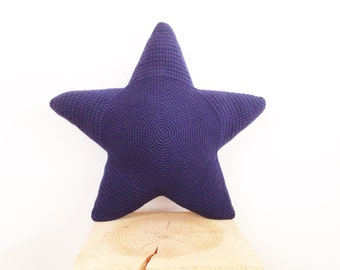 Crochet Star Pillow Pattern - Instant Download