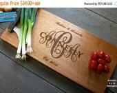 10% OFF THRU FEB Personalized Engraved Cutting Board- Wedding Gift, Anniversary Gifts, Housewarming Gift