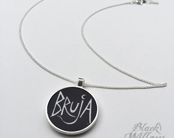 Bruja Pendant with necklace