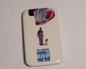Vintage Honey I blew Up the Kid Pinback Button, Vintage Disney Pinback Button, Vintage Disney Button
