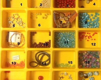 Destash Sale ...  your choice of beads ... 2.50 each ... 20 different choices