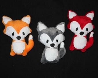 Adorable Fox Plushie - You choose color