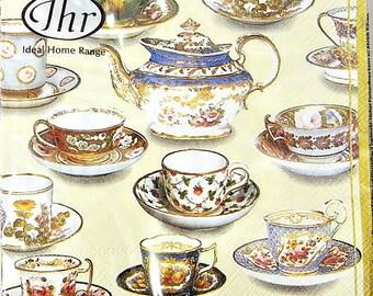 Tea Party Paper Napkins
