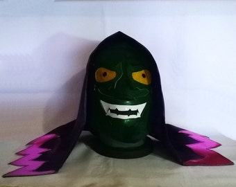 Green Goblin Mask Wrestling Style Mask Mardi Gras Superhero day of the dead halloween party mask masquerade Spiderman mask Superhero